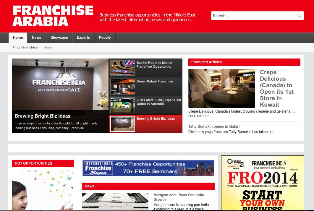 Franchise Arabia Online